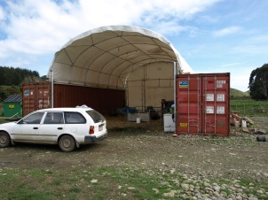 Storage containers/training centre