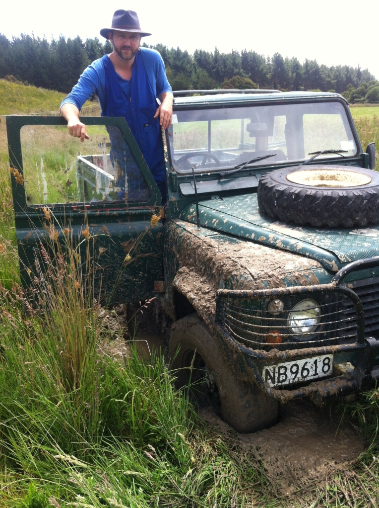 Land Rover, farm